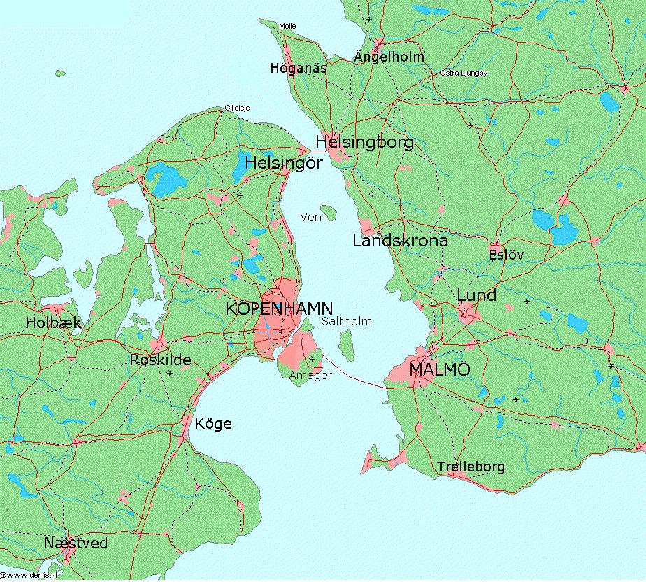 öresund karta Öresund – Wikipedia öresund karta
