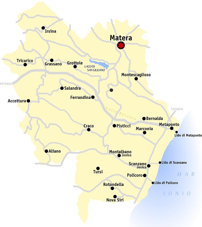 Metaponto Cartina Geografica.File Matera Mappa Png Wikipedia