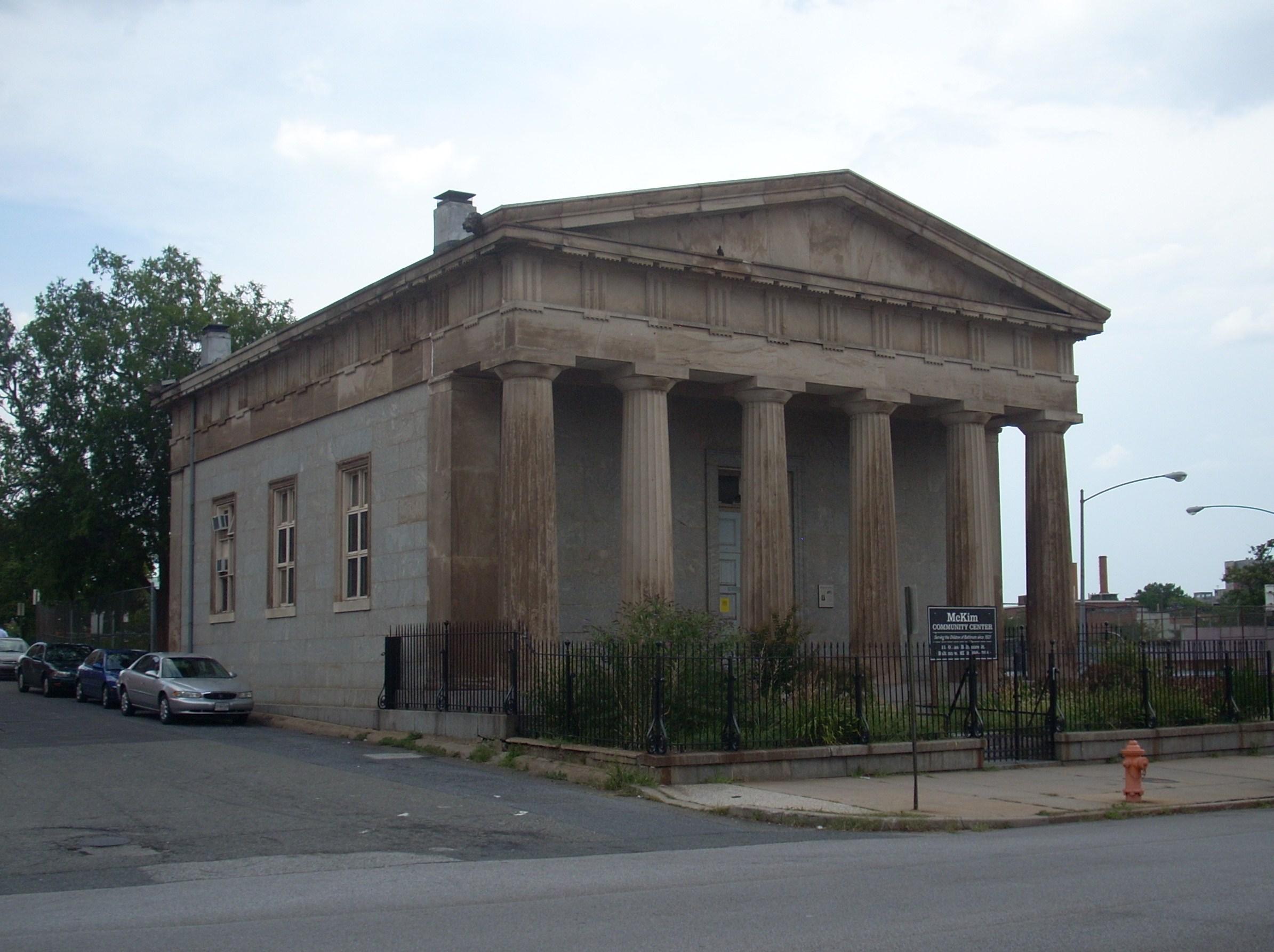 File:McKim's School, 1120 E. Baltimore St., Baltimore City, Maryland