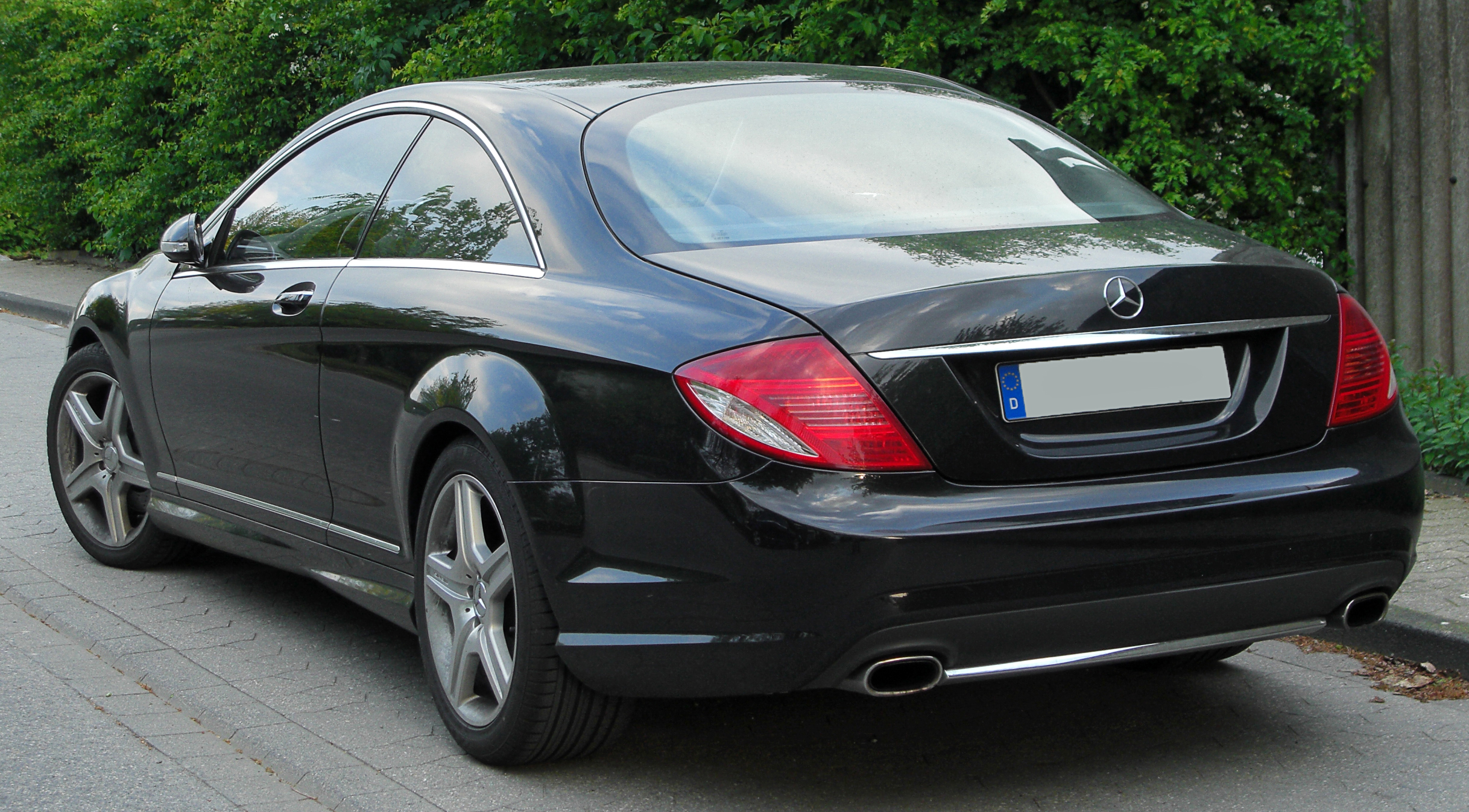 file mercedes cl 500 amg sportpaket c216 rear wikimedia commons. Black Bedroom Furniture Sets. Home Design Ideas