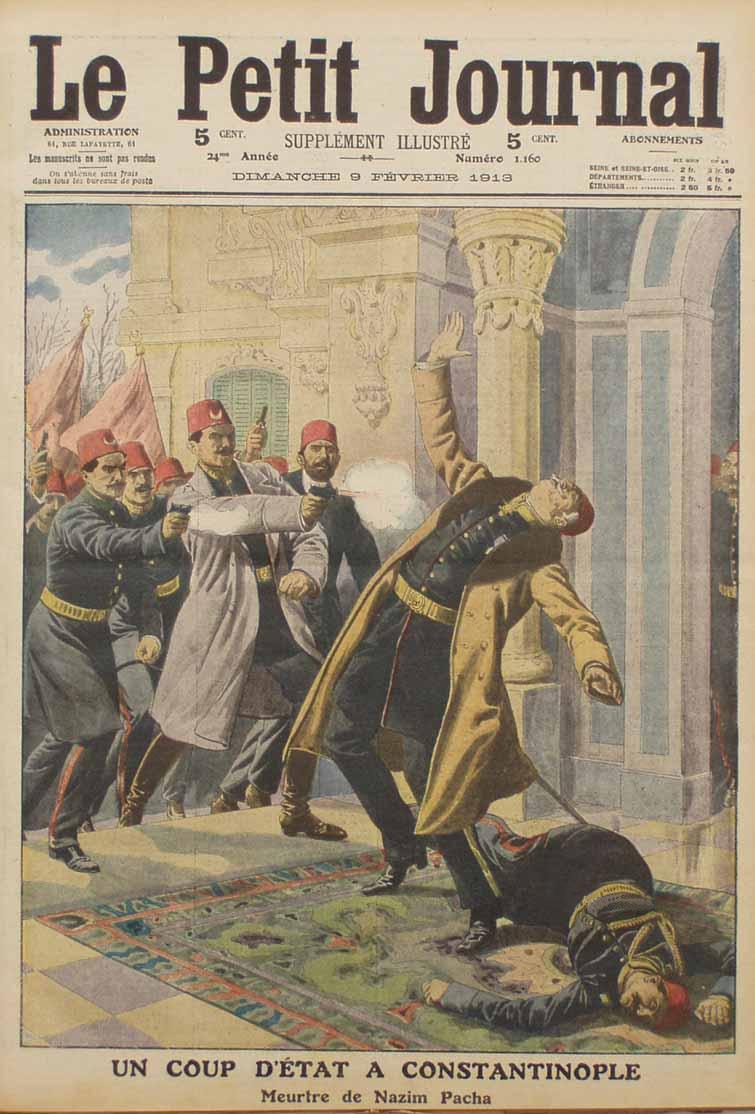 Meurtre de Nazim Pacha illustration, 9 February 1913.jpg