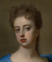 Mary Somerset, his second wife, painted by Michael Dahl