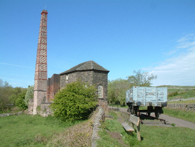 Middleton Top engine house. - geograph.org.uk - 107706