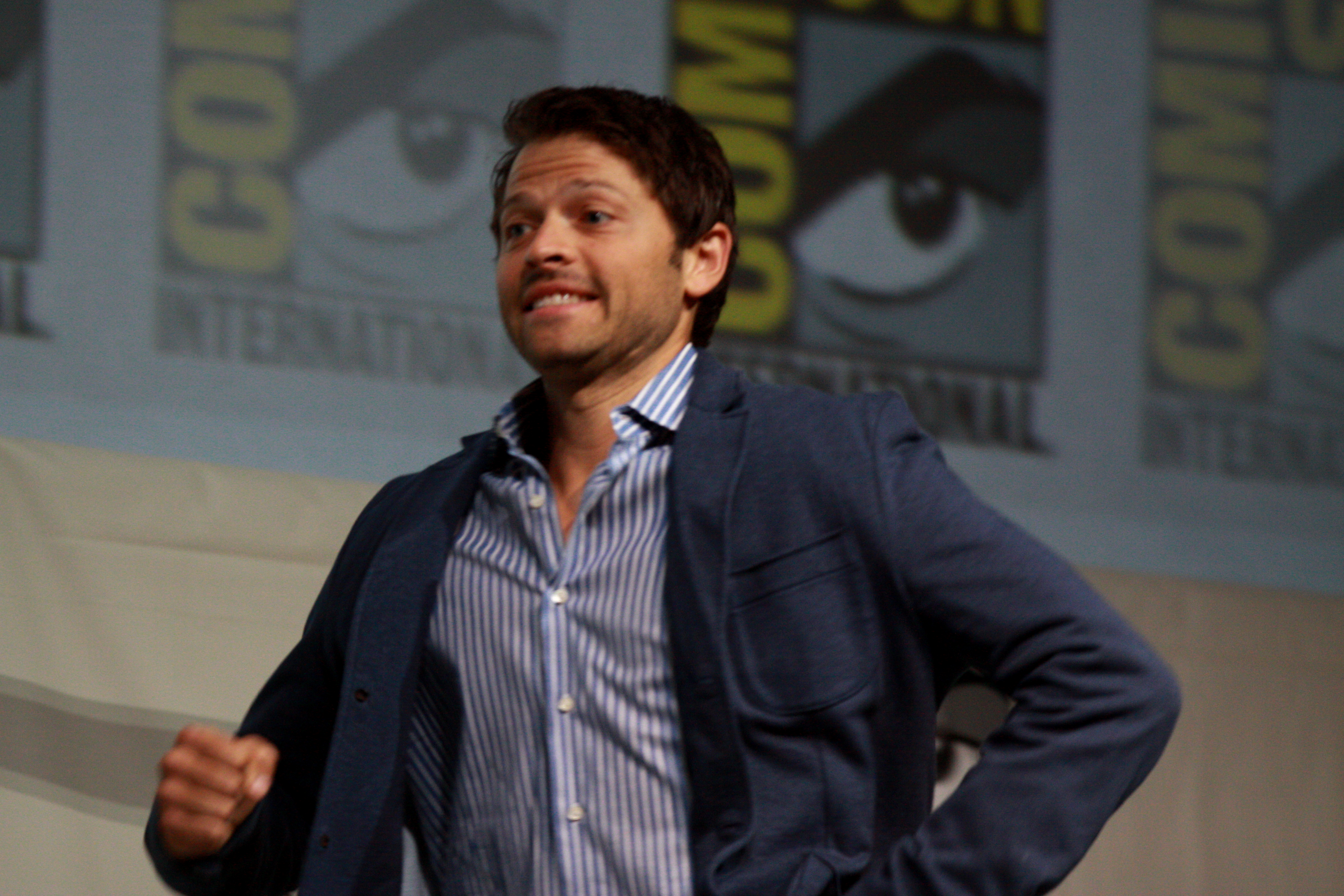 misha collins and vicki vantoch