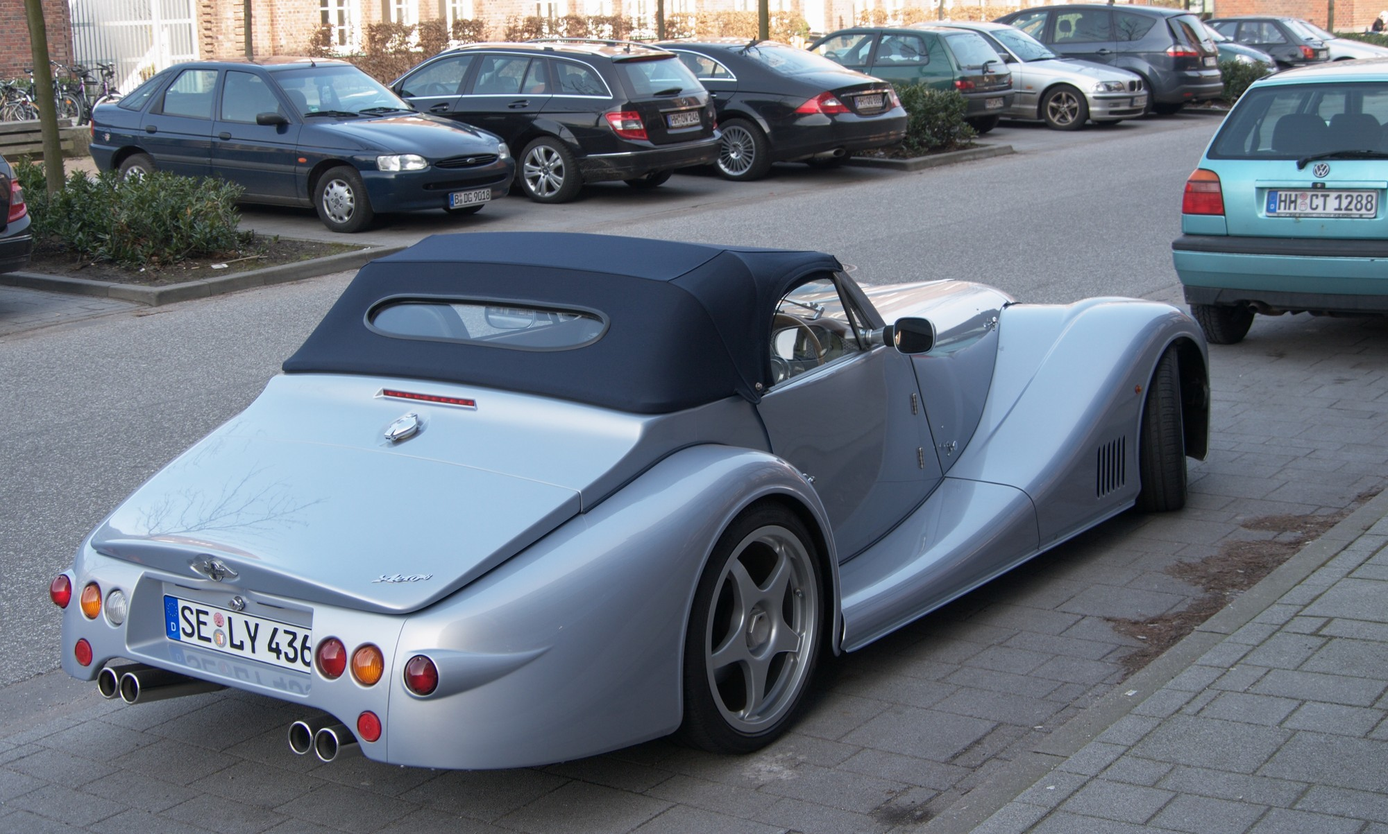 Morgan Sports Cars Cwmbran