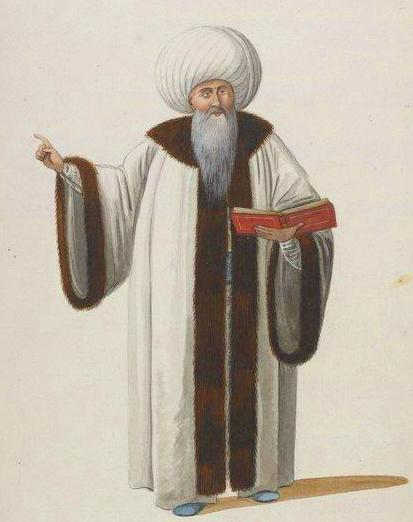 Grand Muftis Of The Ottoman Empire Wore Blue Shoes