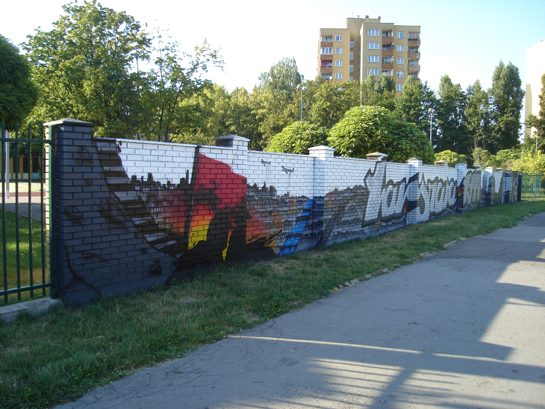 Mural Warszawa