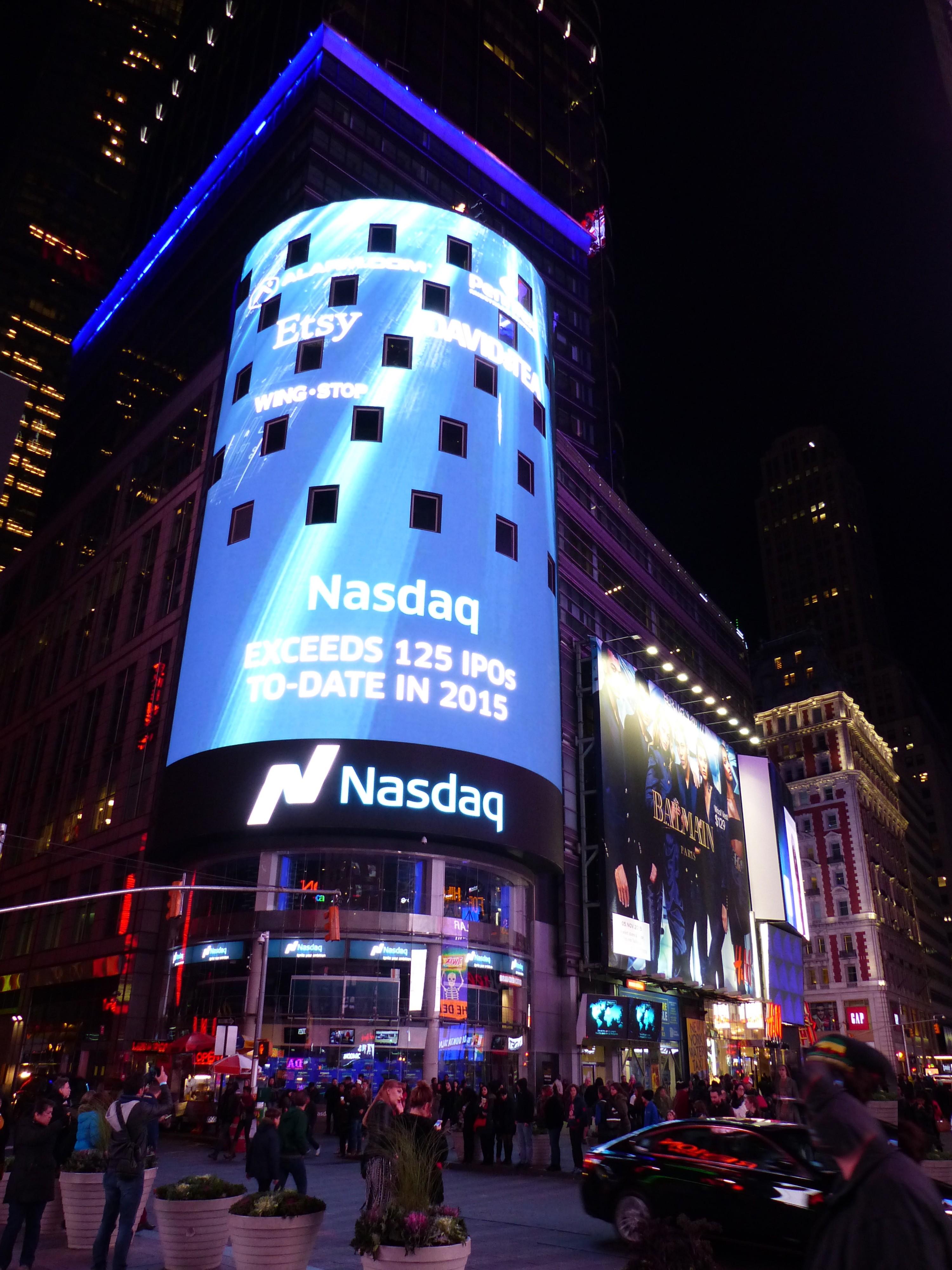 Nasdaq MarketSite - Wikipedia