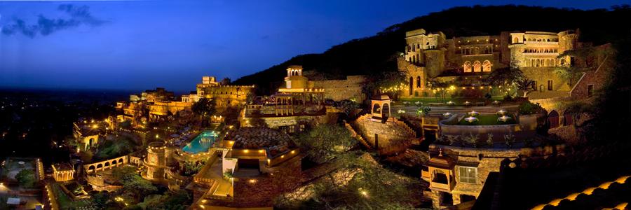 Neemrana Fort Palace in Alwar