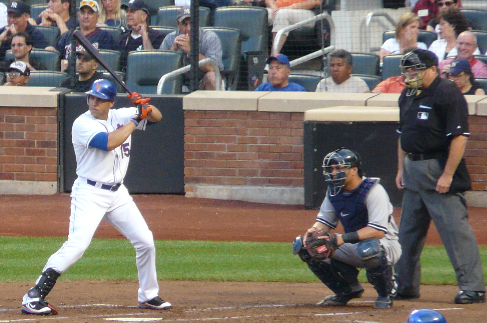File New York Mets Rightfielder Carlos Beltran At Bat At