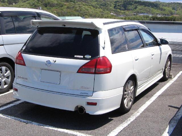 Nissan Wingroad Review >> File:Nissan-Wingroad-y11 2002-rear.jpg - Wikimedia Commons