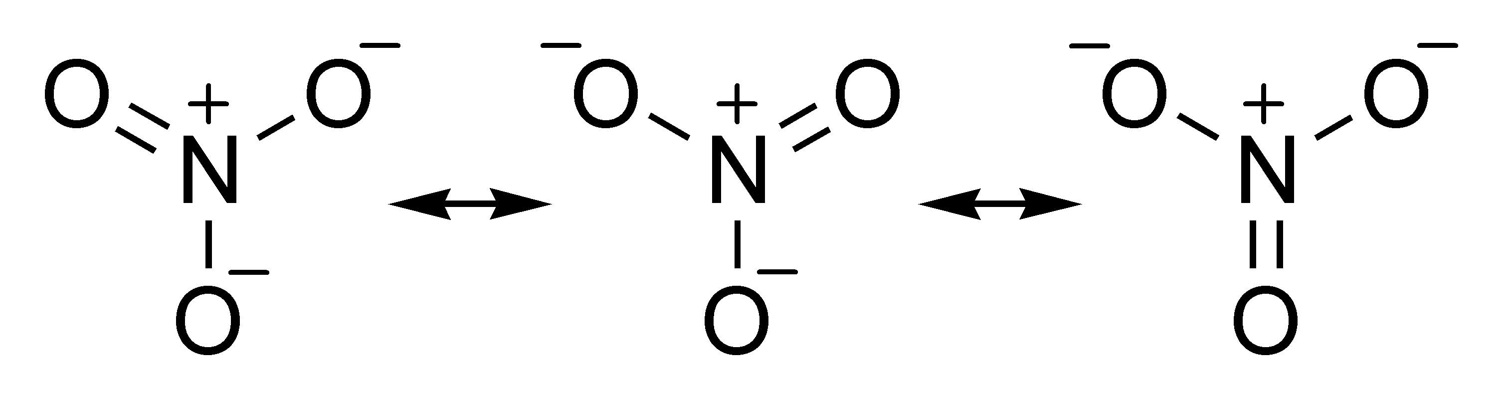 No3 Resonance Structures