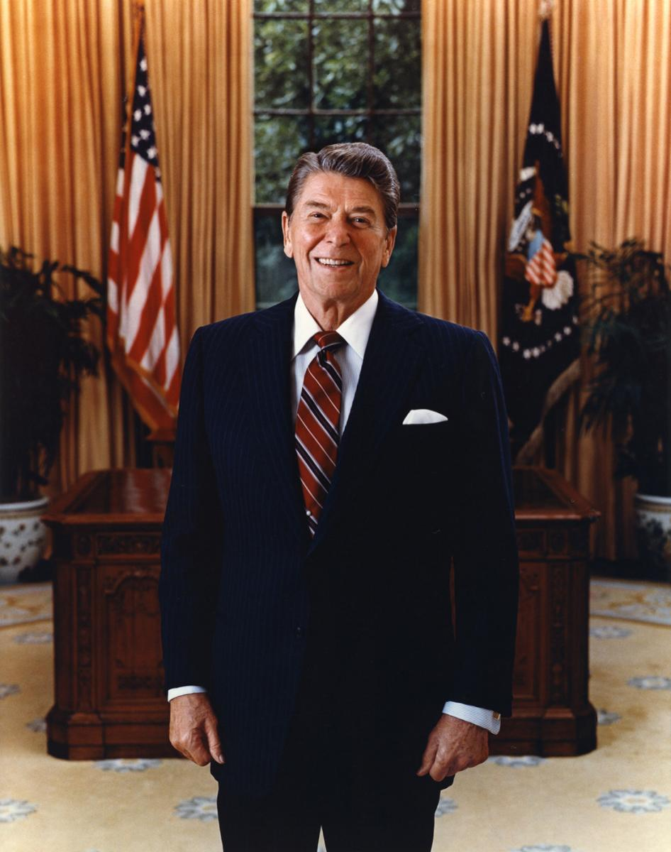 a history of reagans presidency Ronald reagan's faithful followers claim he has used his skills as the great  a history of money and banking in the  reassessing the presidency.