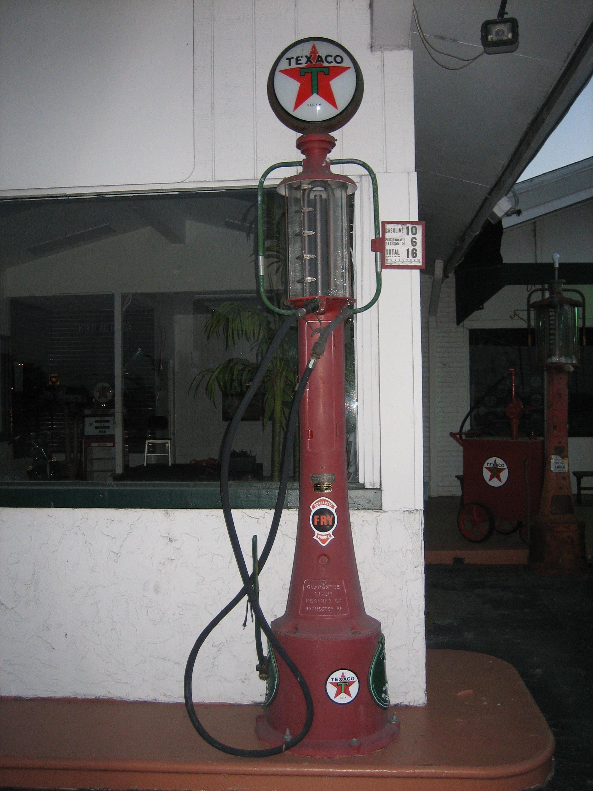 old texaco gas pumps html