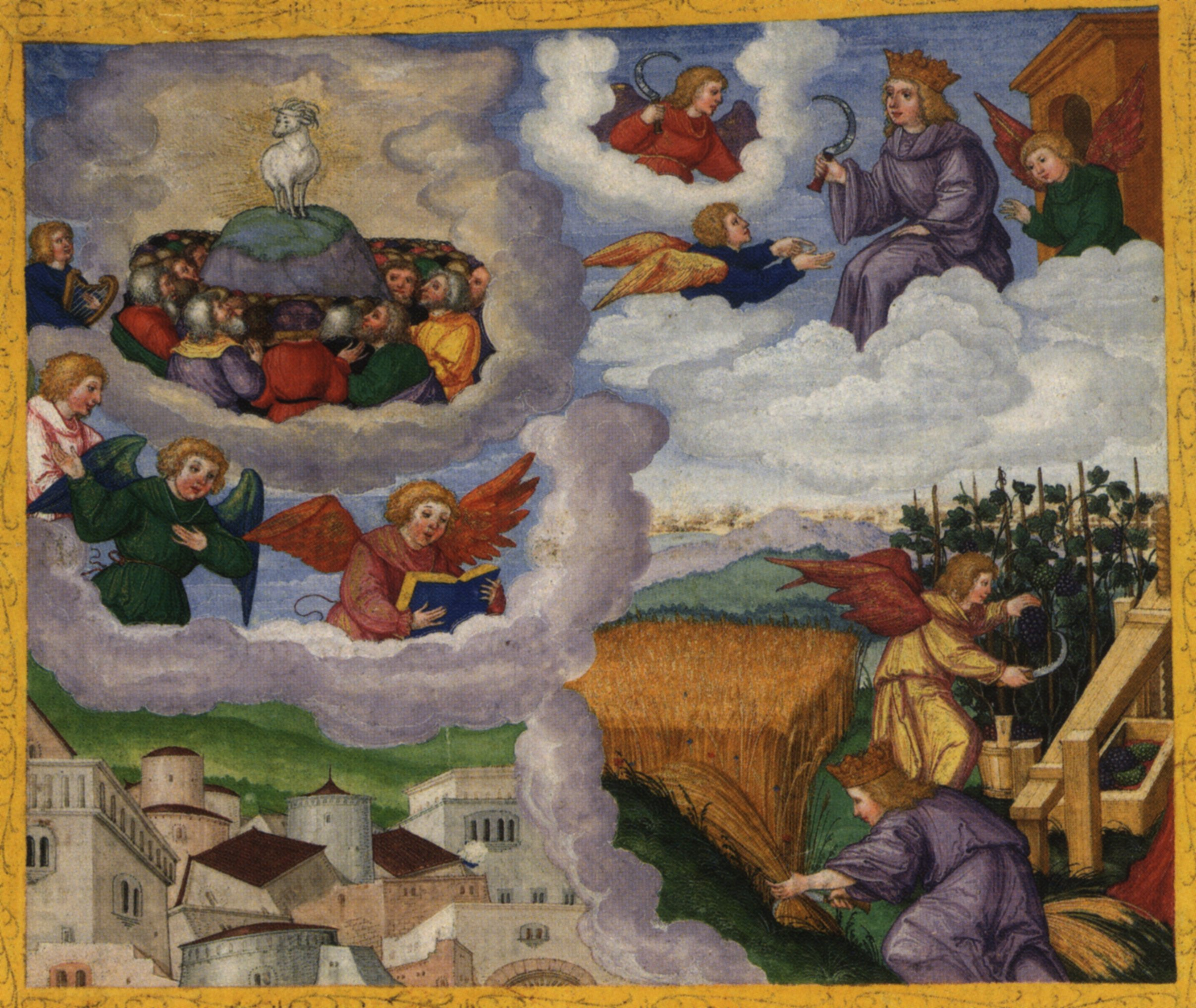 Revelations 13 1 5 Revelation 14 1 5