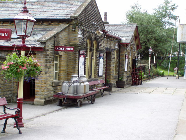 Oxenhope Station - geograph.org.uk - 543241