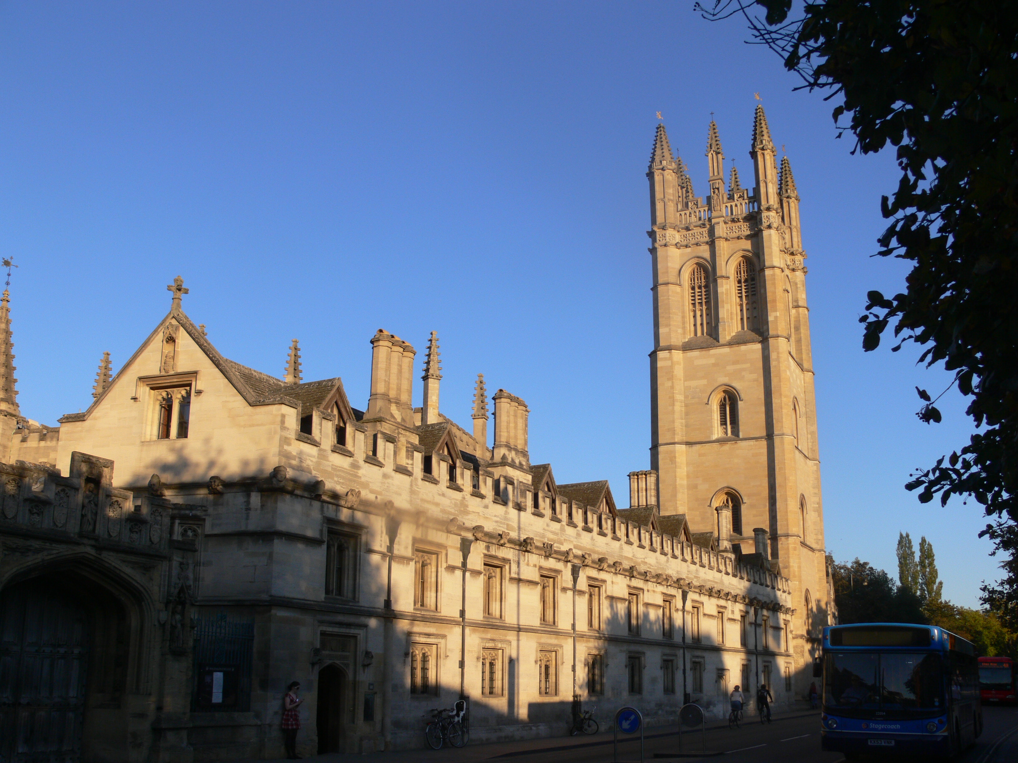 magdalen college or university oxford