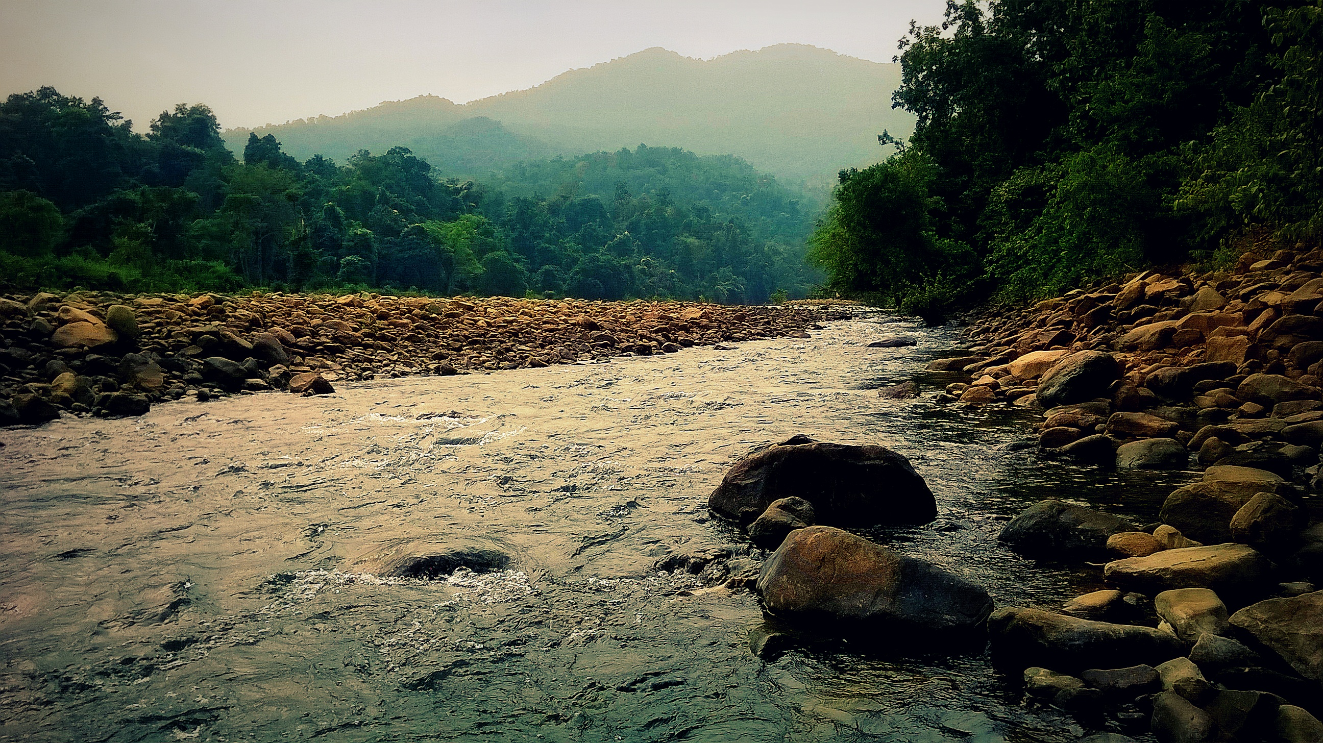 Palpala River near lulung in Simlipal National Park