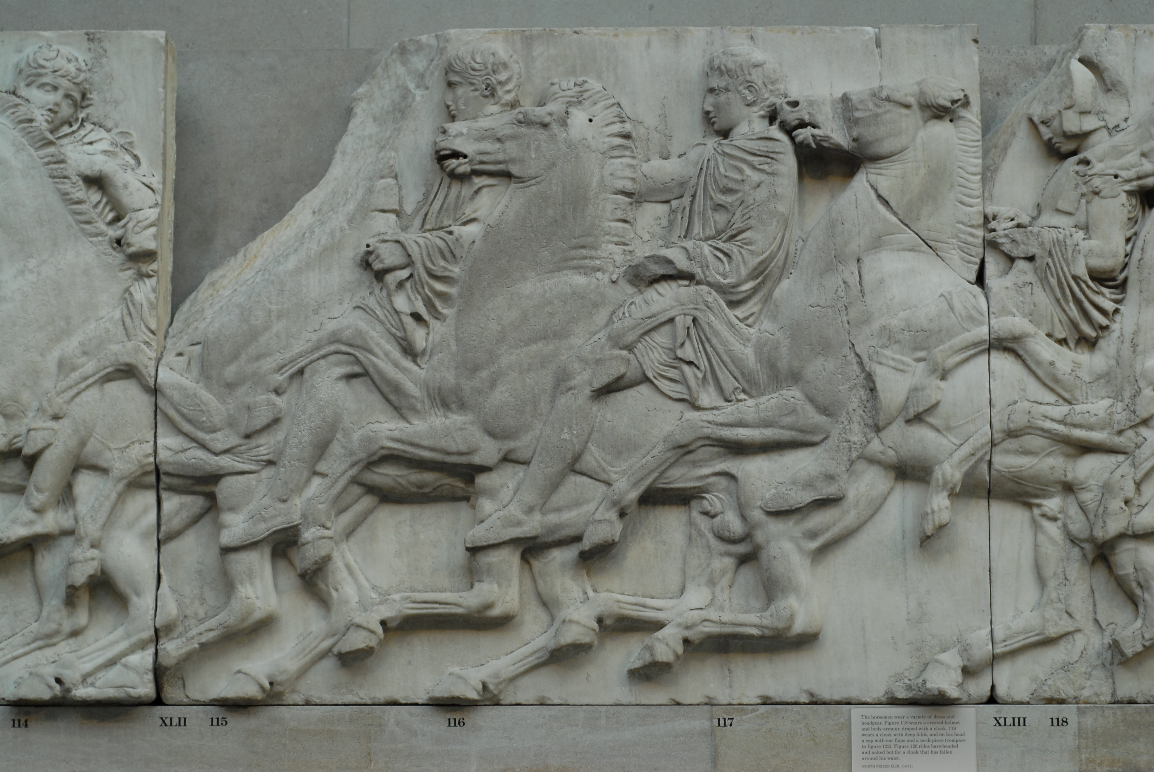 File Parthenon Frieze North Xlii Jpg Wikimedia Commons