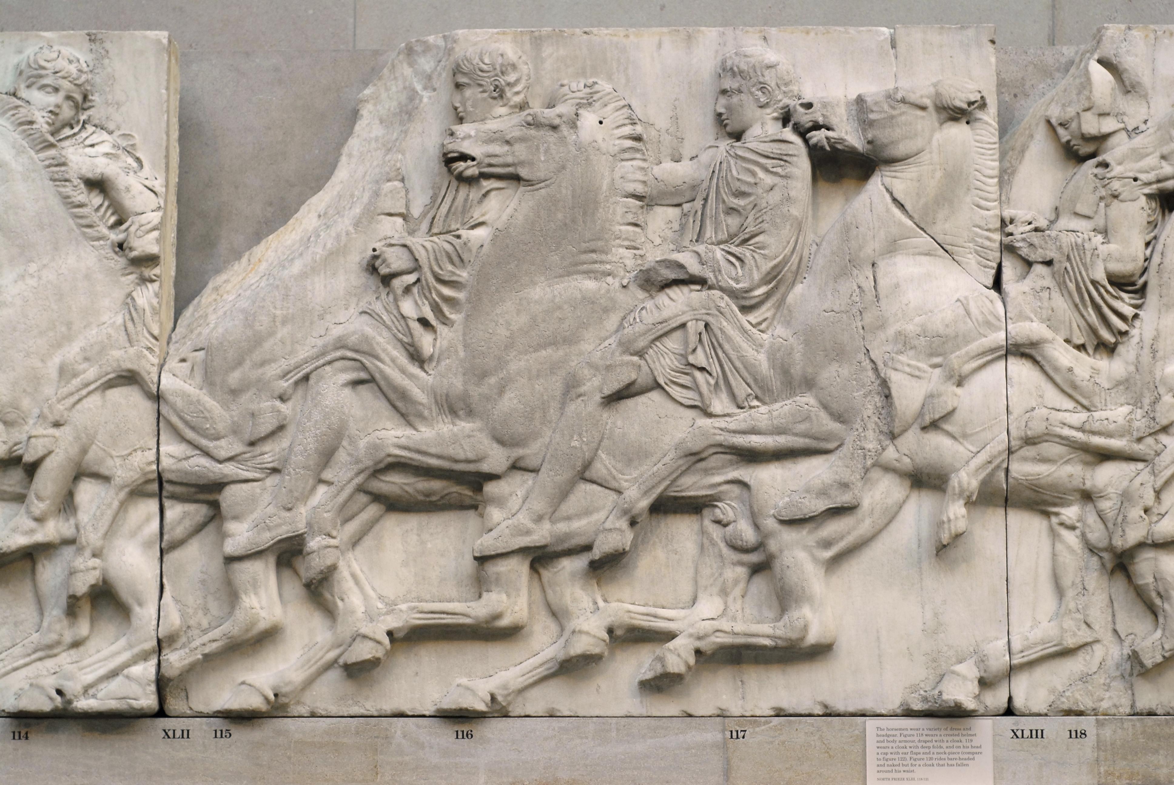 fileparthenon frieze north xliijpg wikimedia commons