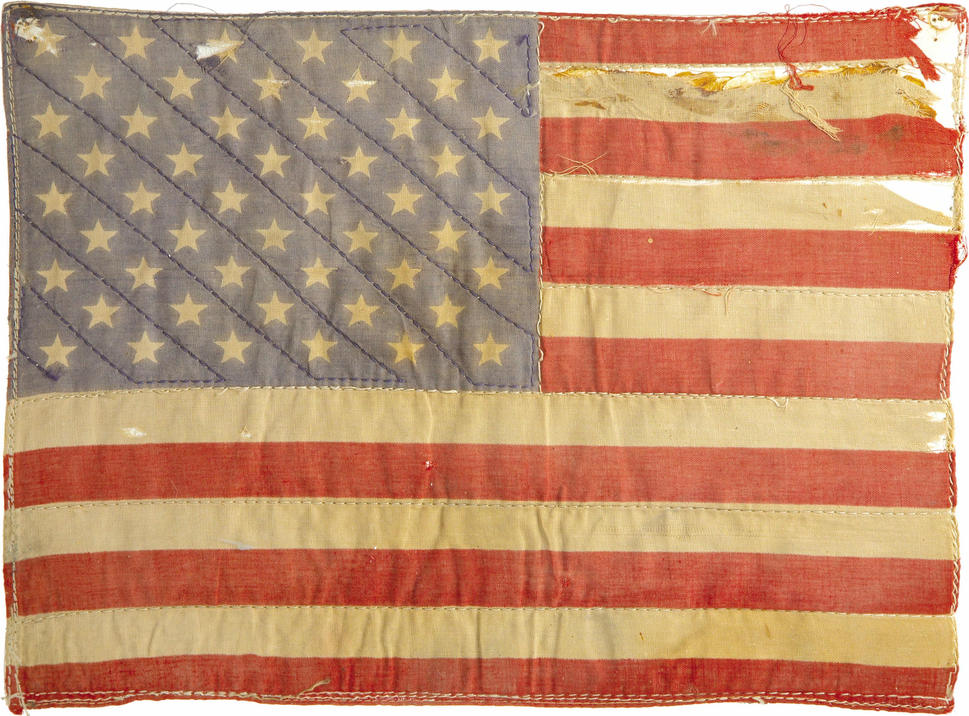 First amendment flag burning