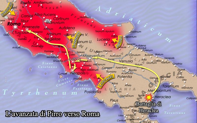 Pirro Roma 280aC