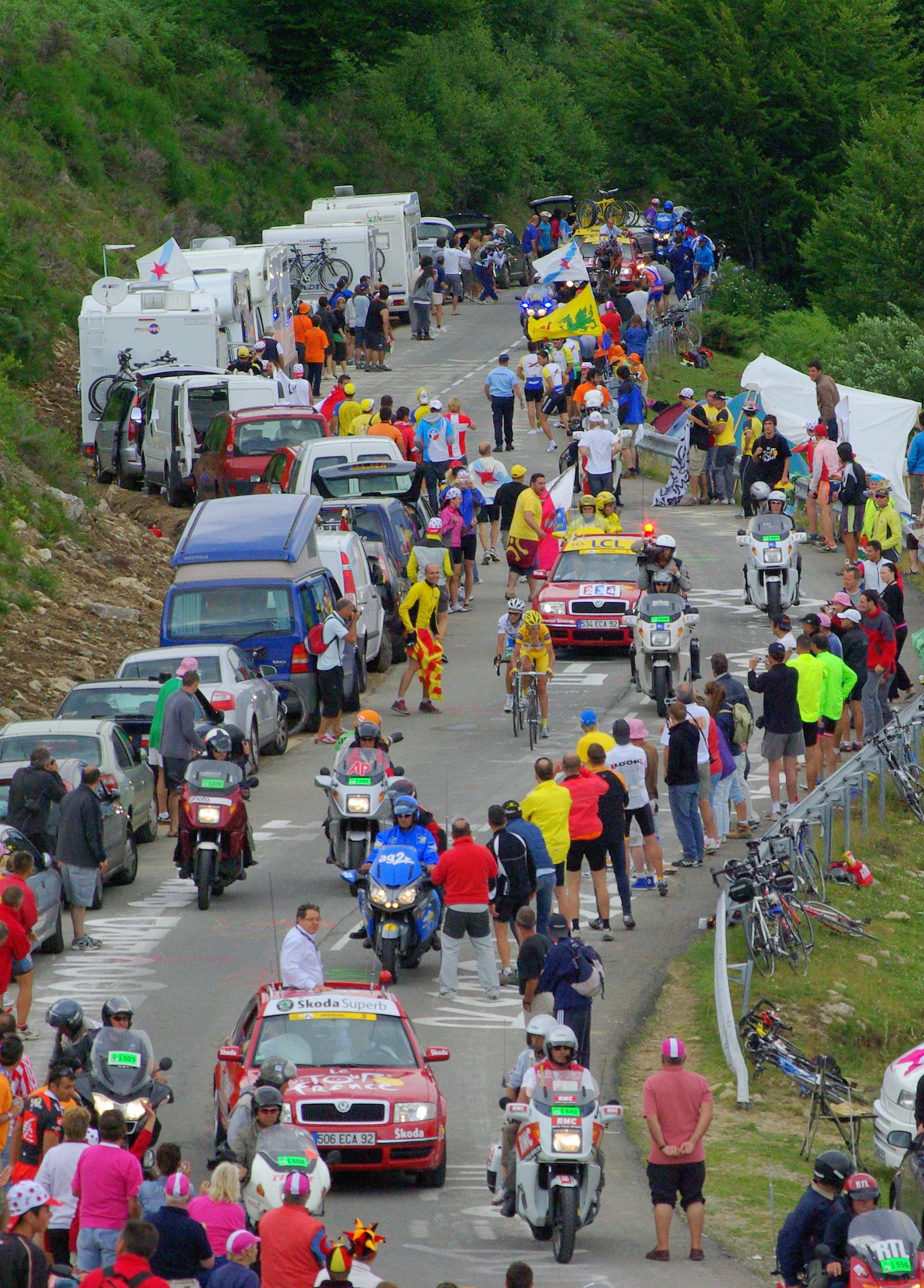 Tour de france 2007 plateau beille webcam