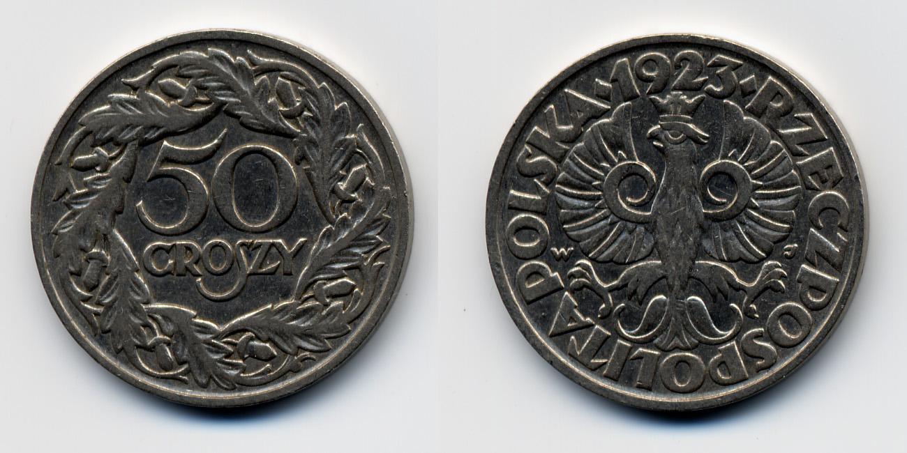 groszy 50 1923
