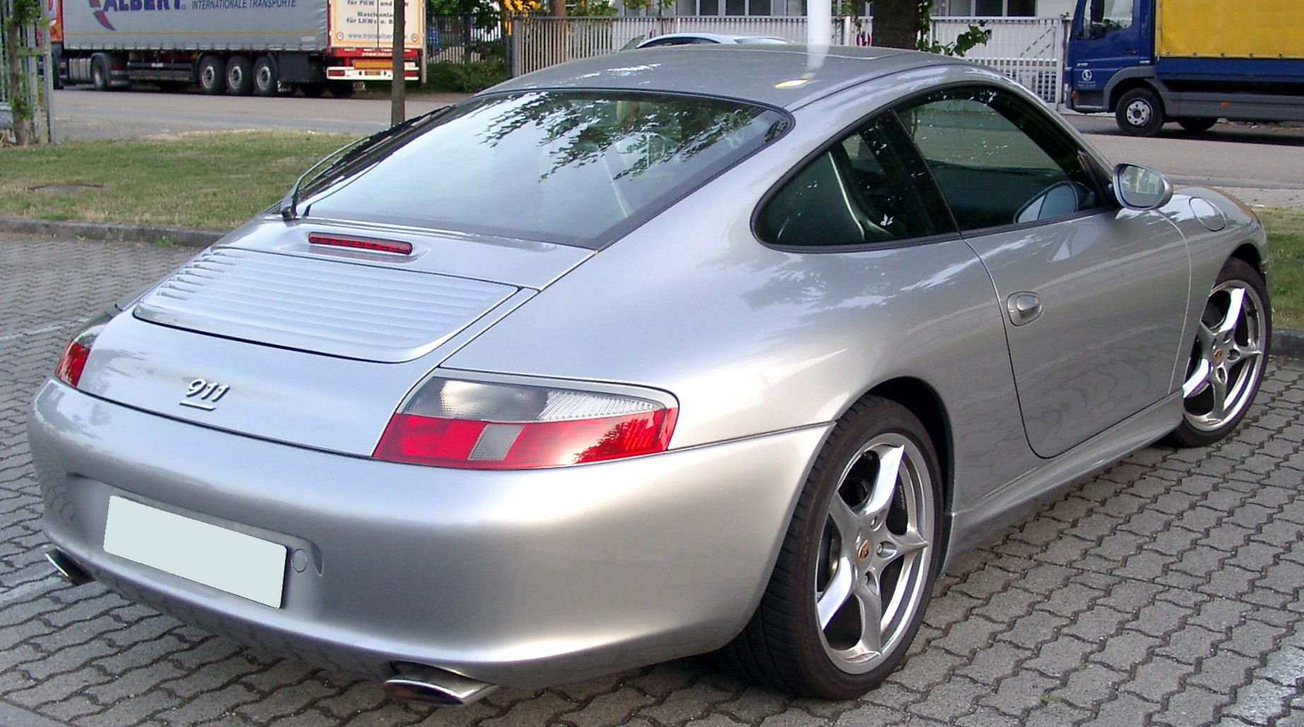 File Porsche 996 Rear 20080624 Jpg Wikimedia Commons