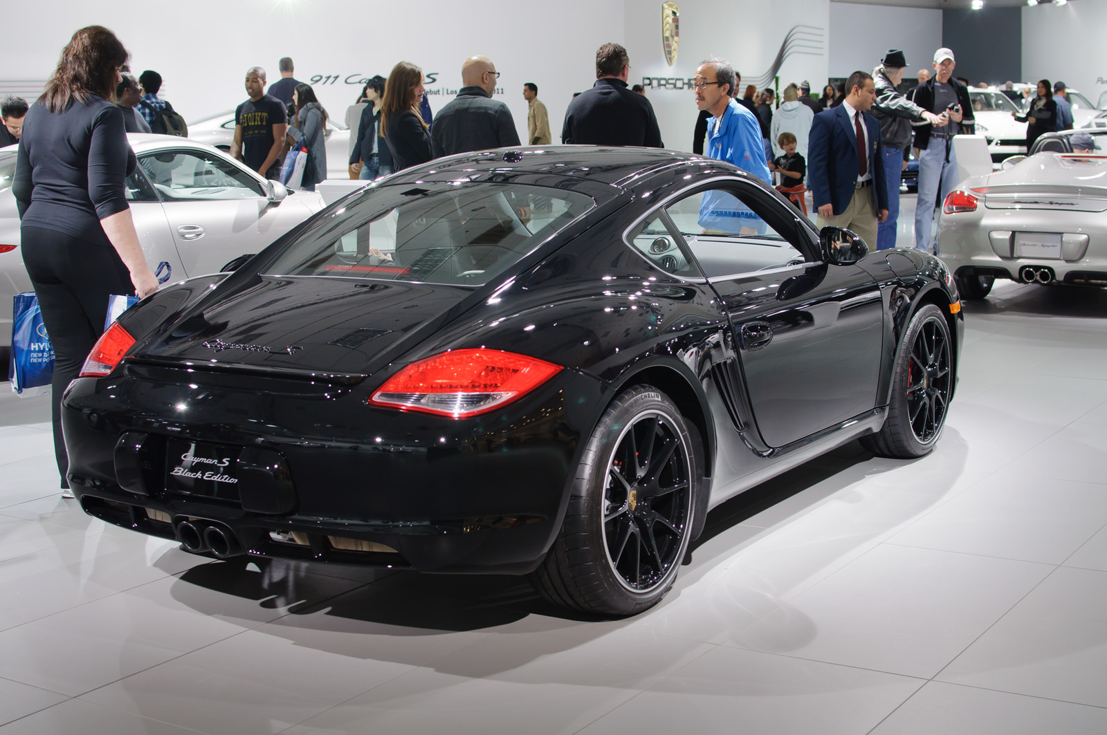 2016 Porsche Cayman S Review >> File:Porsche Cayman S, Black Edition (US) - Flickr - skinnylawyer.jpg - Wikimedia Commons