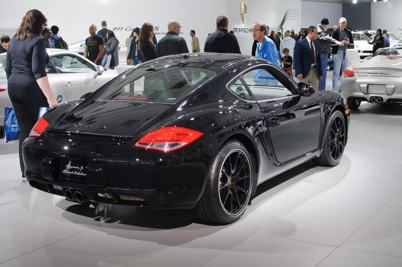 File Porsche Cayman S Black Edition Us Flickr