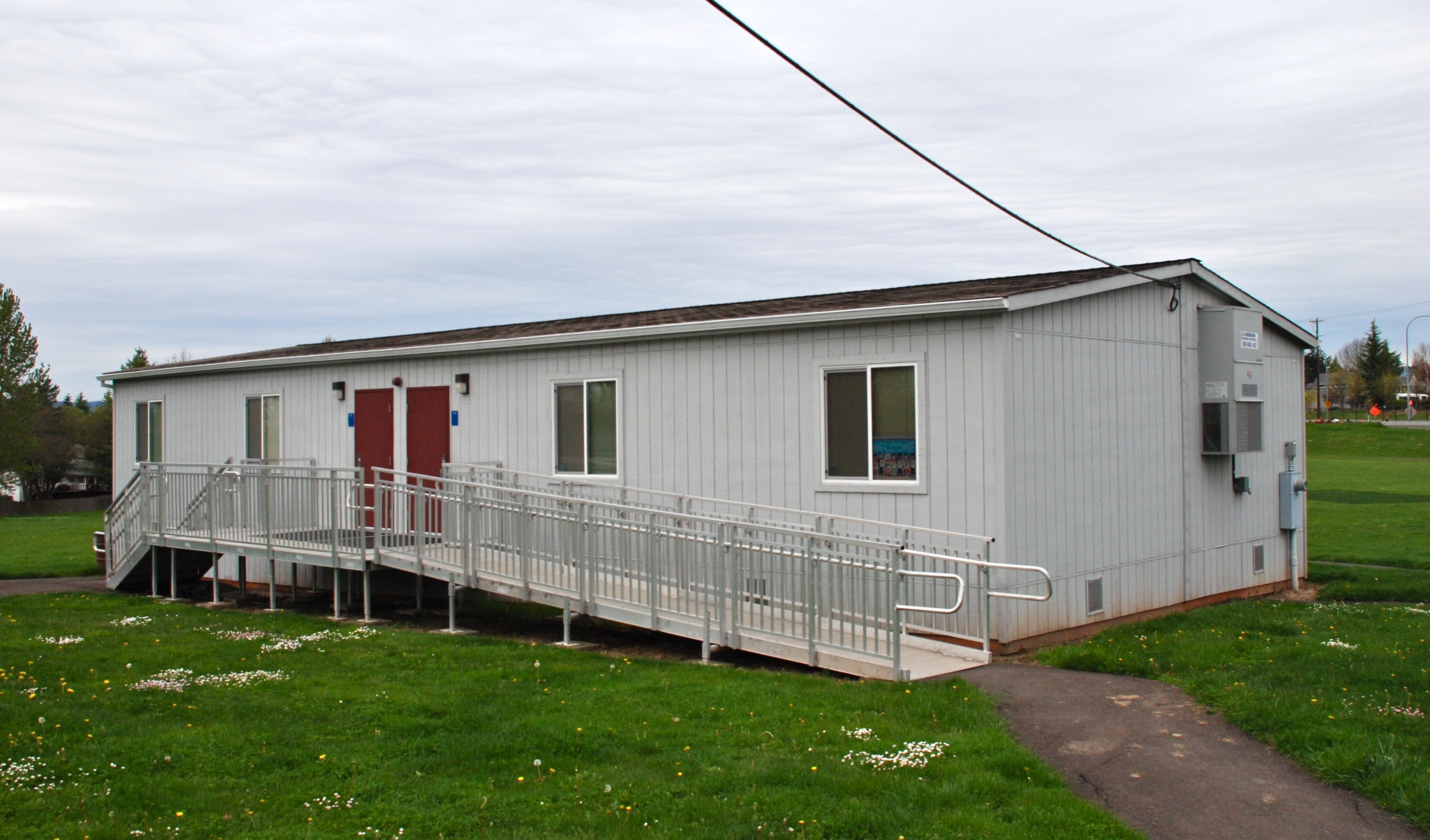 Modular Classroom S : File portable classroom building at rock creek elementary