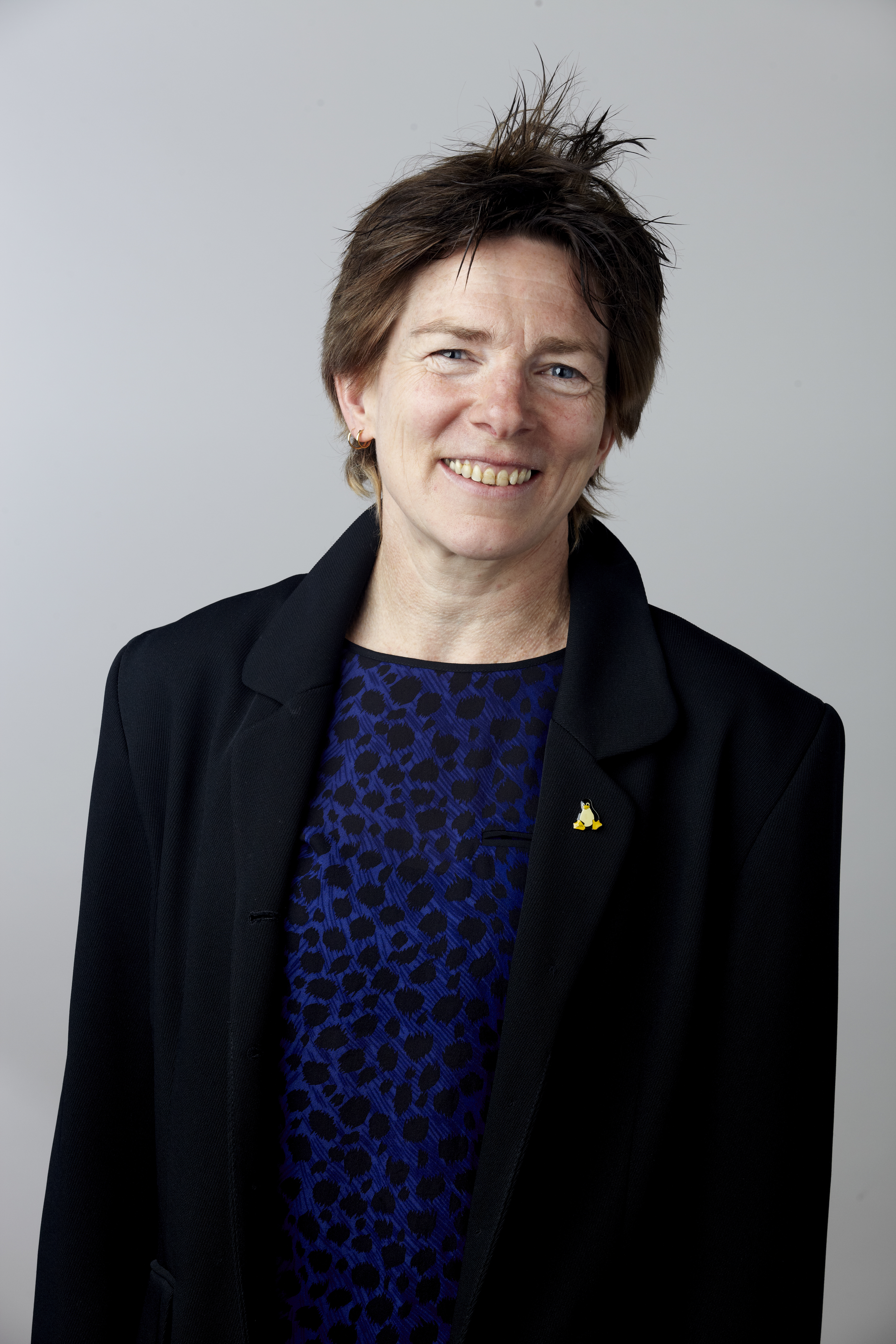 Jenny Nelson at [[Royal Society]] admissions day in London, July 2014
