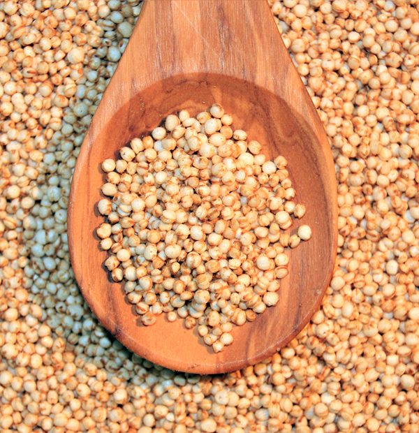 Quinoa is a great high-protein grain for anyone following a gluten-free diet