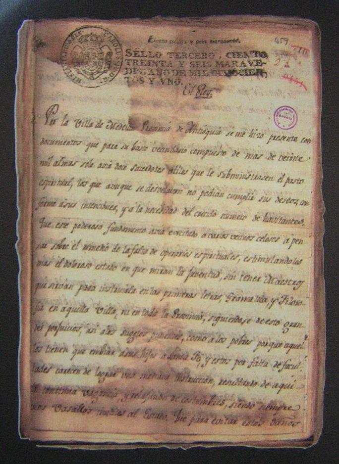 Real Cédula del 9 de febrero de 1801