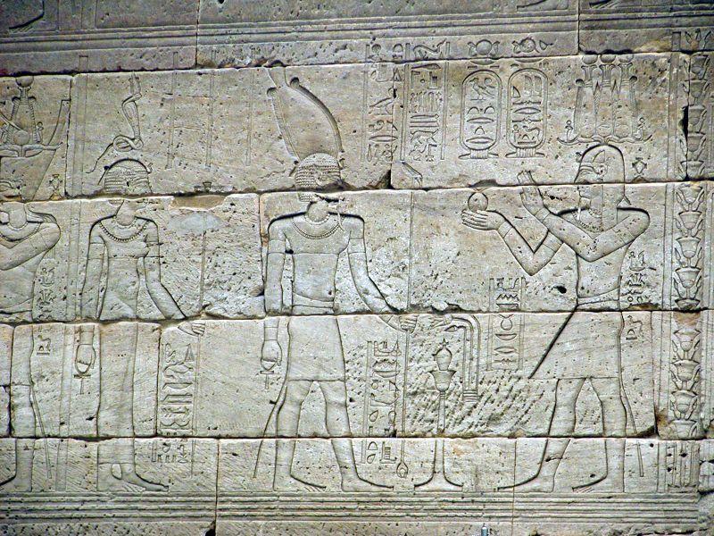 Reliefs from Dendur Temple2005