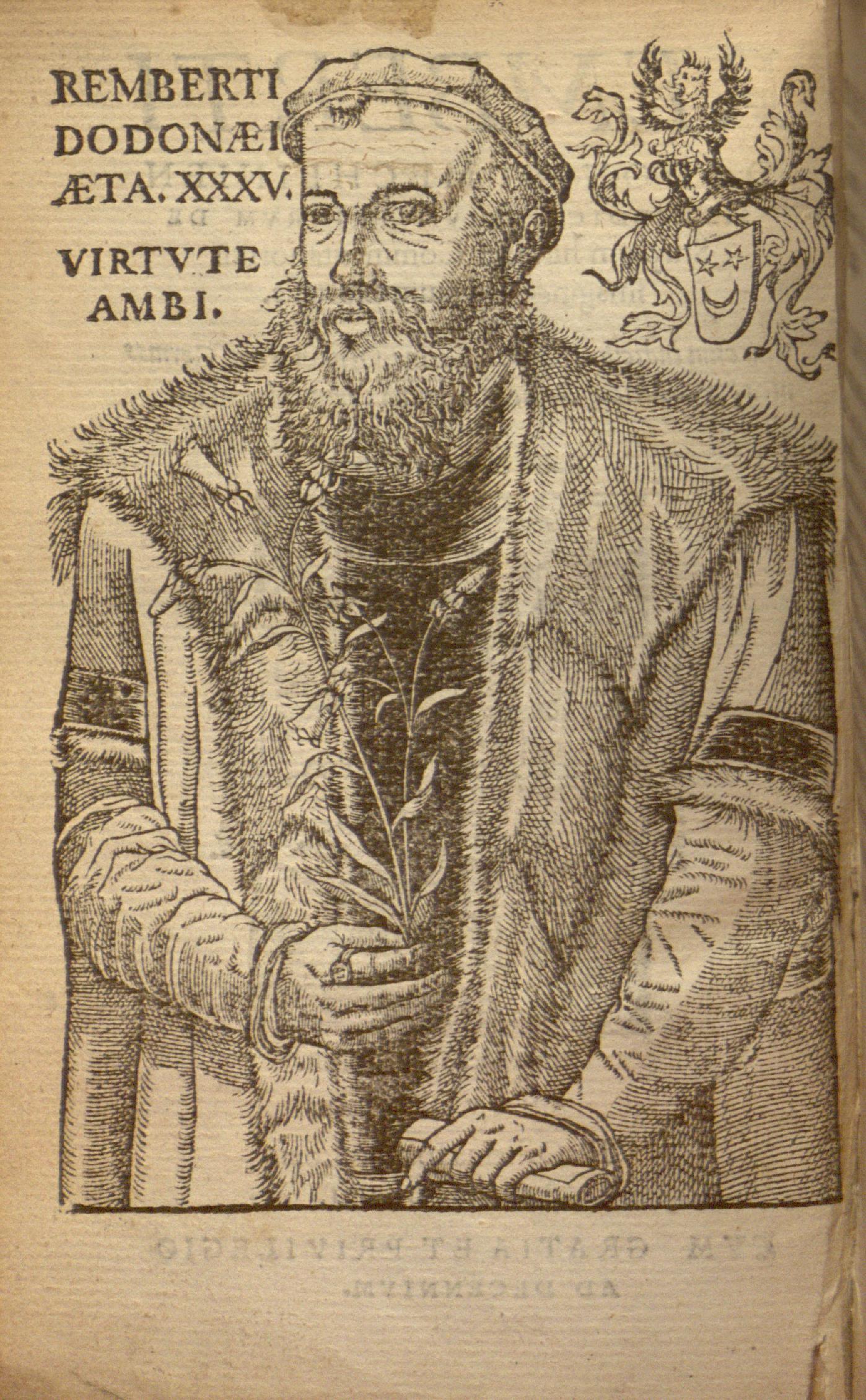 Depiction of Rembert Dodoens