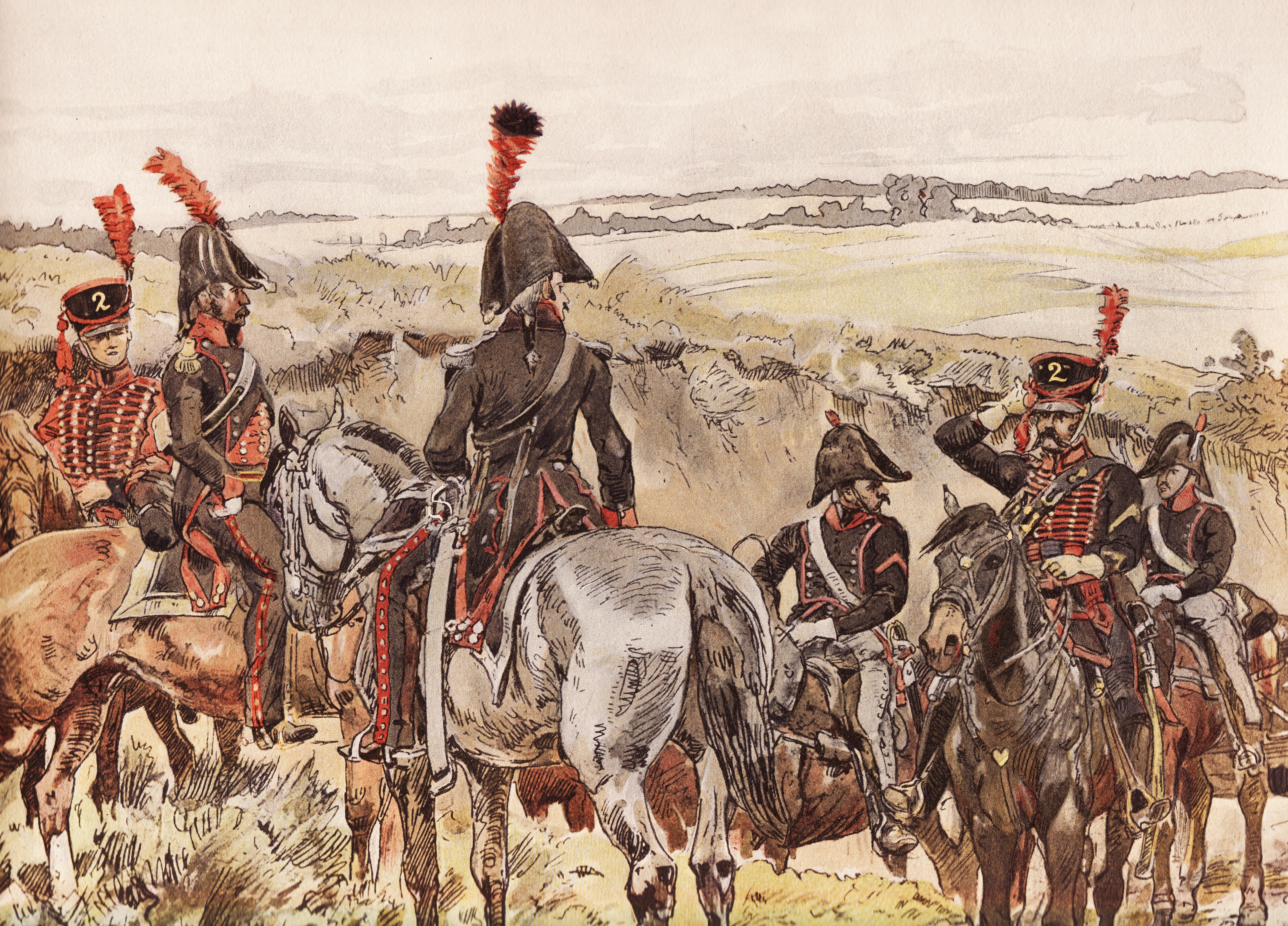 File:Rijdende Artillerie en trein, 1808.jpg