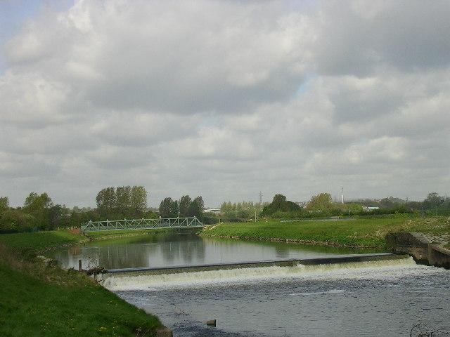 River Irwell, Salford - geograph.org.uk - 7743
