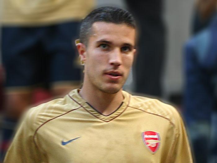 Robin Van Persie Arsenal Football Team Picture