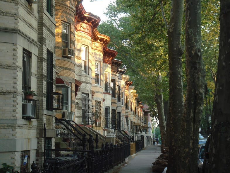 Eli5 why are terraced houses in new york and possibly for New terrace house