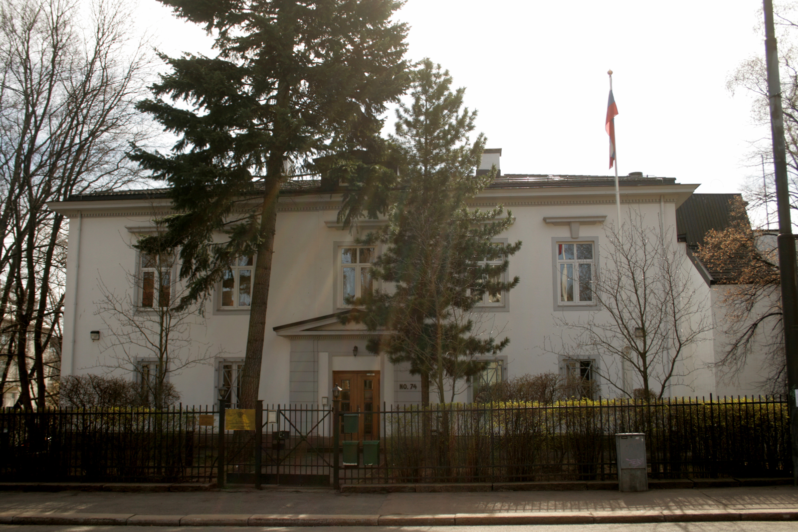Have Russian embassy in norway russian And