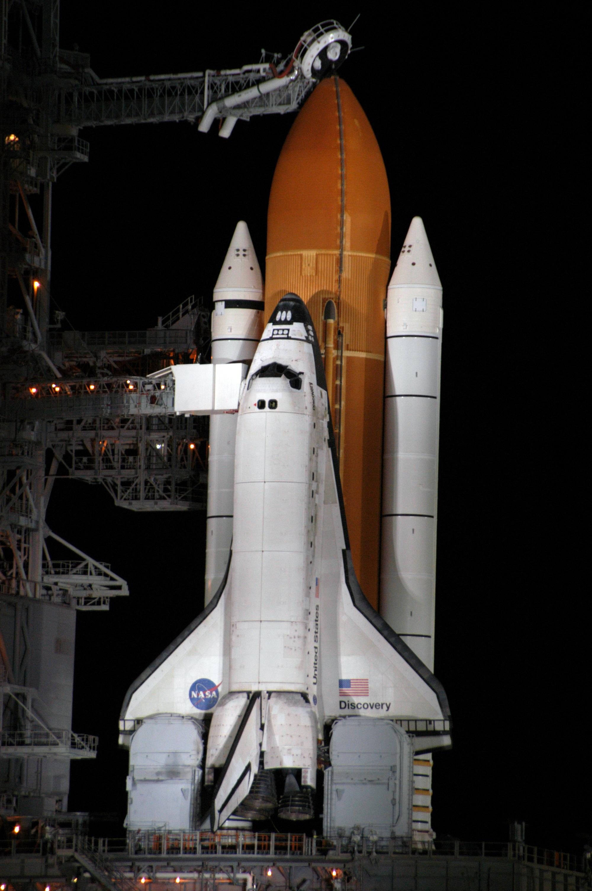 space shuttle umbilical connections - photo #17