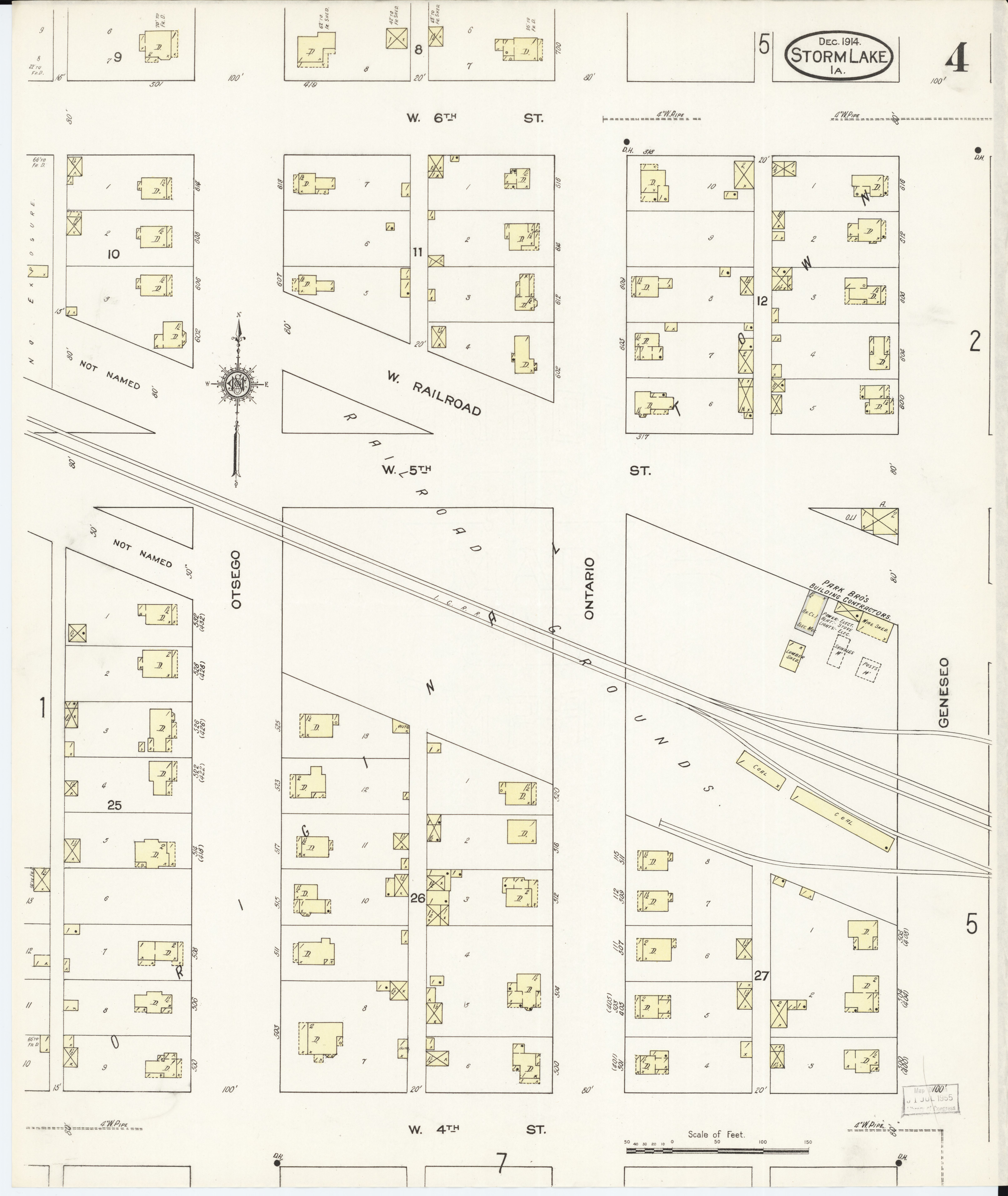 File Sanborn Fire Insurance Map From Storm Lake Buena Vista County