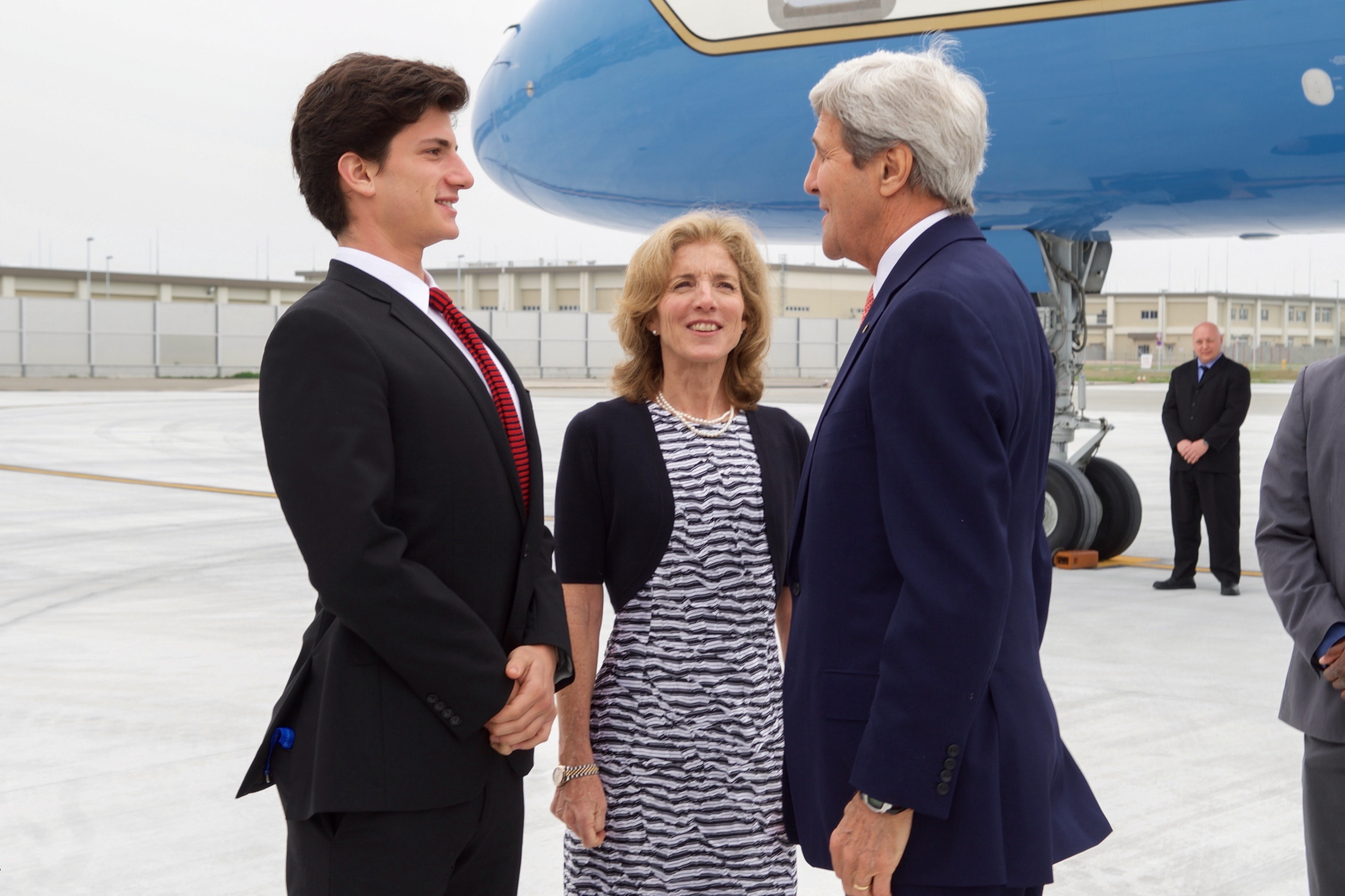 The 21 Most Cringe Worthy Tv News Moments Of 2013 moreover File Secretary Kerry Chats With Ambassador Caroline Kennedy  and Her Son Jack Schlossberg  26271407591 further 10 as well Watch moreover Beautiful John F Kennedy Personally Owned Humidor Lot24357. on ted kennedy and jfk