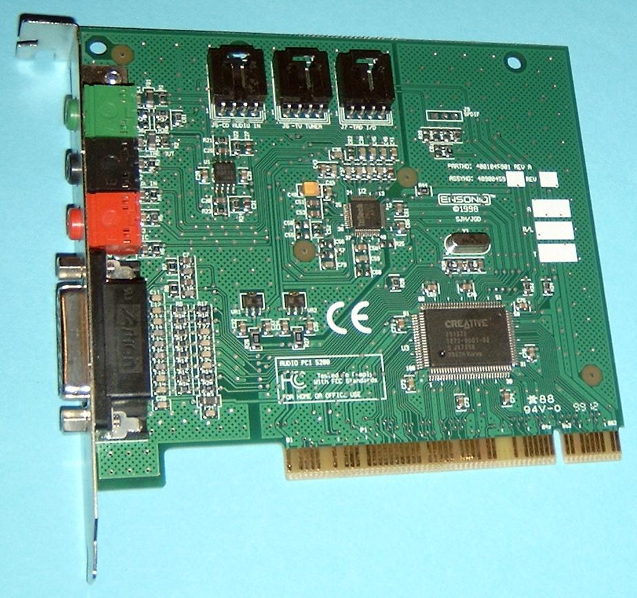 Creative AudioPCI (ES ,ES1373) (WDM) Driver Download ...