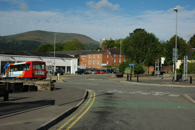 Abergavenny United Kingdom  city images : Abergavenny Bus Station, Abergavenny, United Kingdom