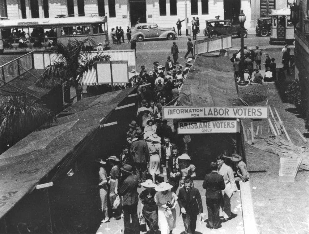Election date in Brisbane