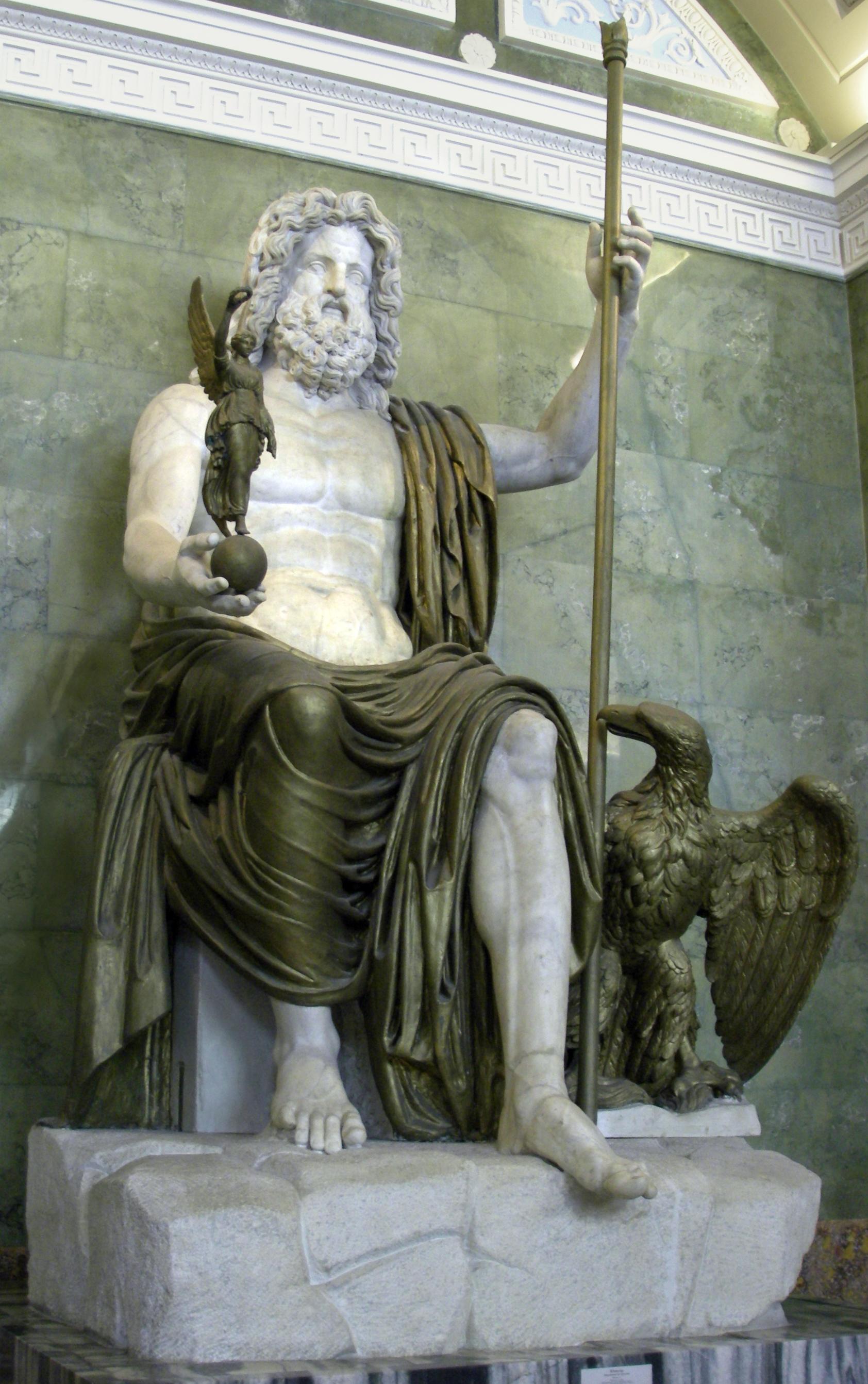 Statue of Zeus (Hermitage) - Статуя Юпитера.jpg