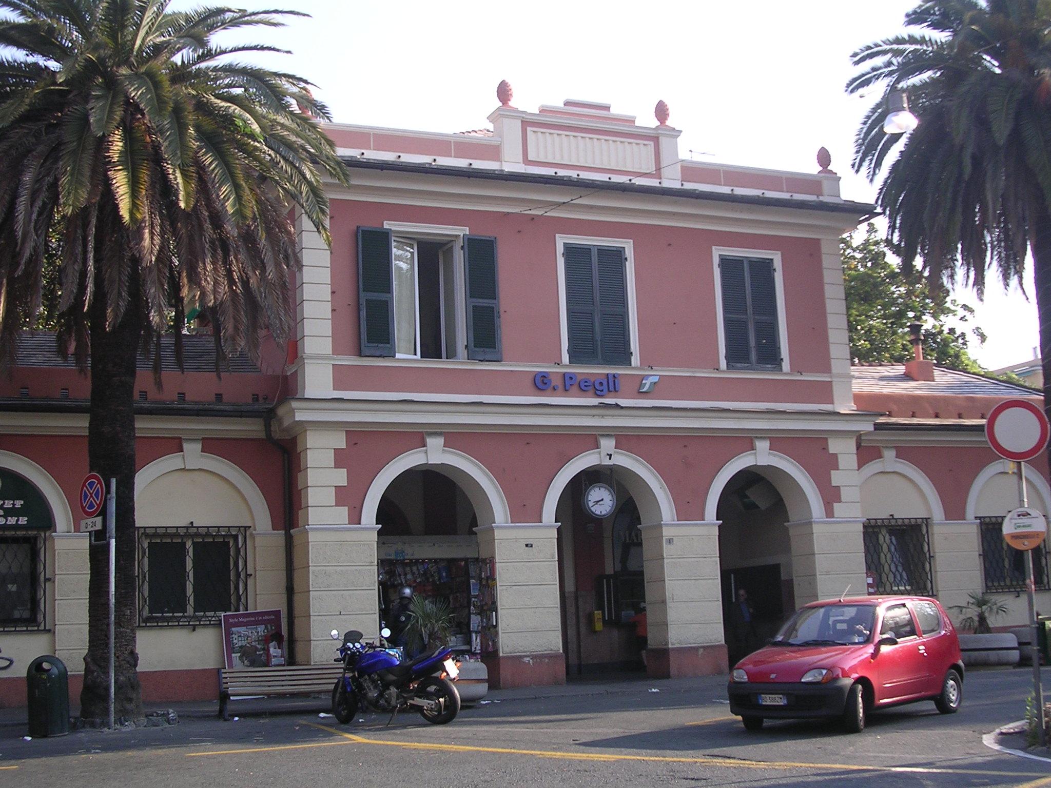 File:Stazione Di Genova Pegli